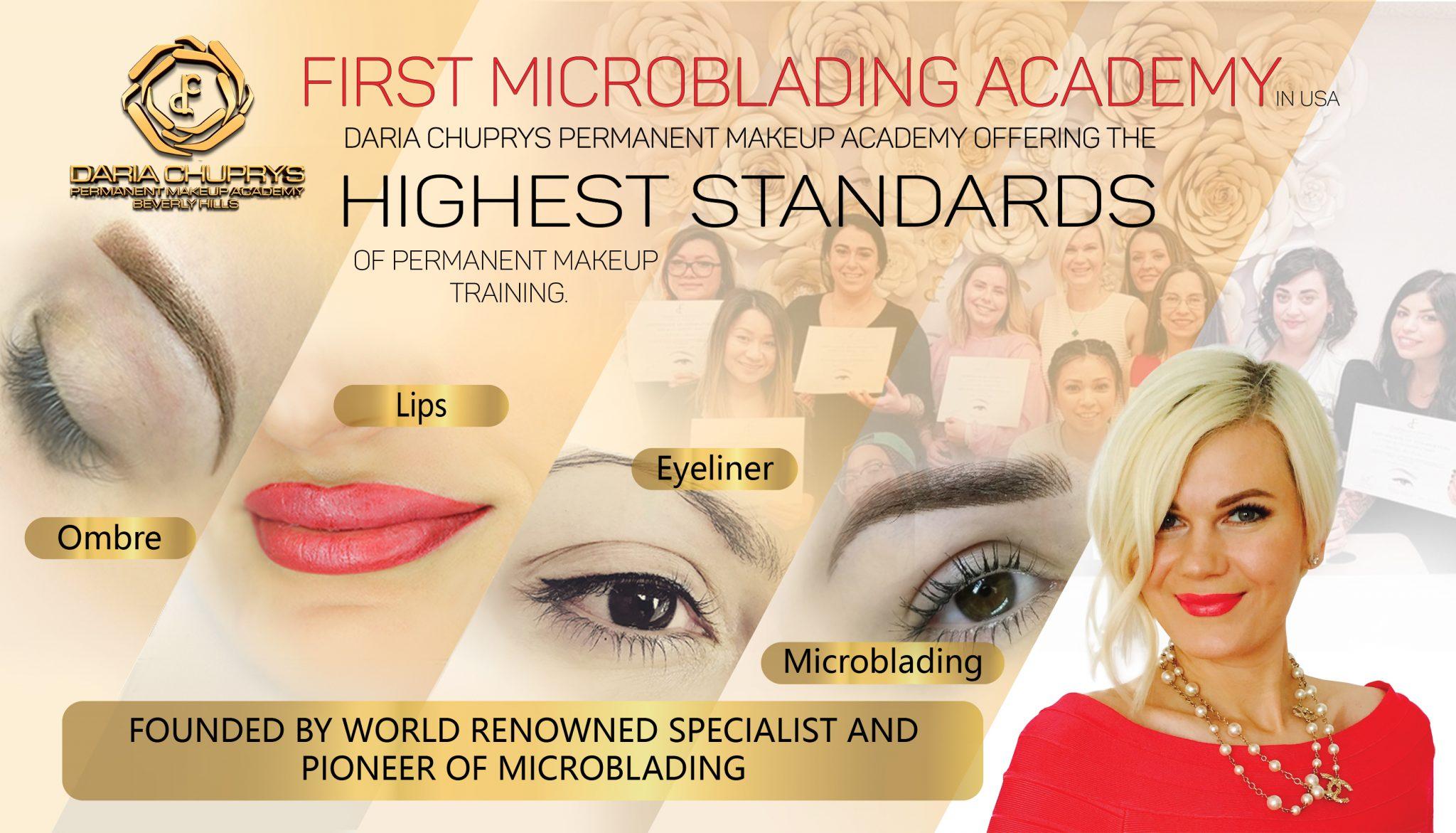 Academy Training Courses – Daria Chuprys Permanent Makeup